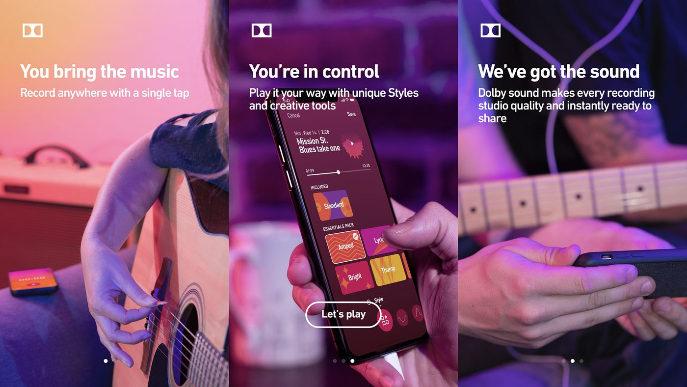 Dolby made a secret app for recording studio quality audio on your