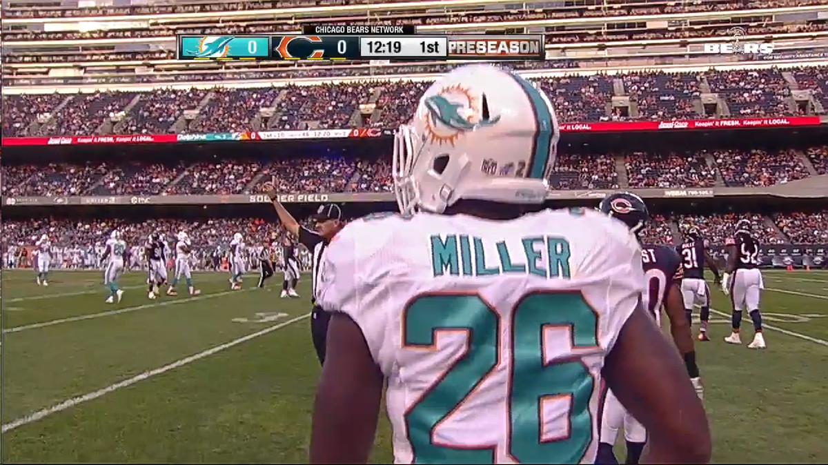 Miller 27 yard run 7