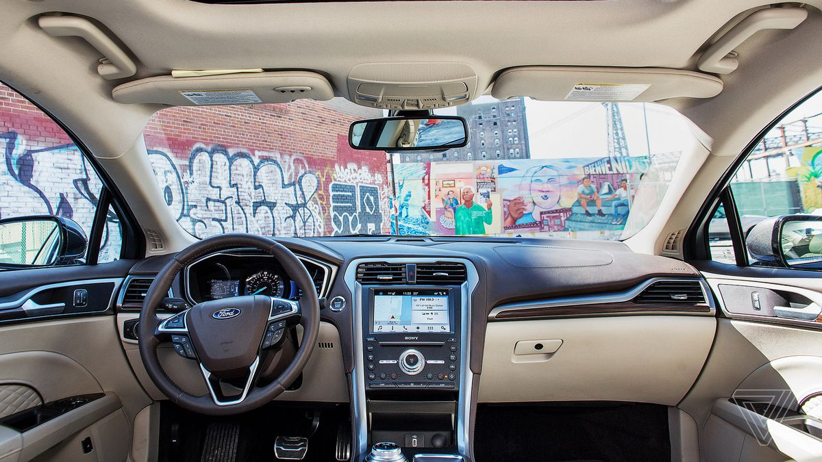 Screendrive 2017 Ford Fusion Energi Is The First Car With Alexa