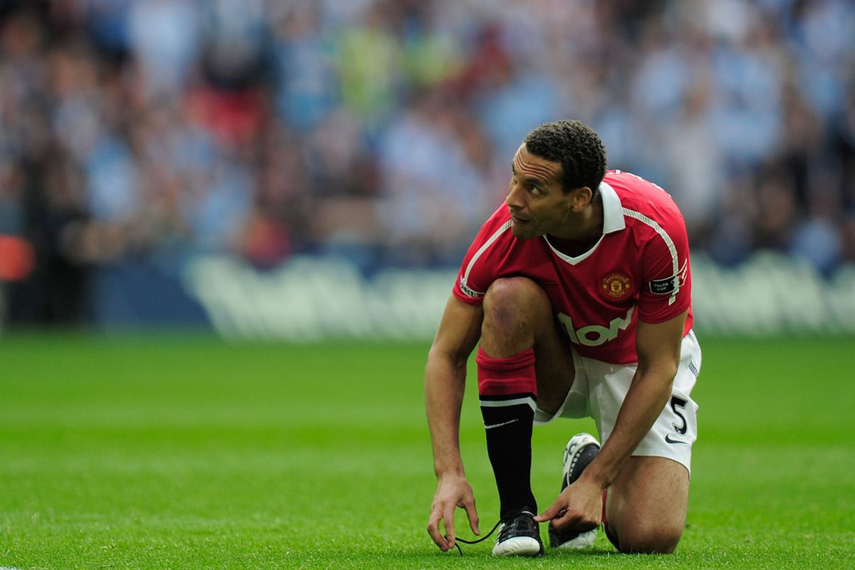 Will Rio Ferdinand be the latest former European star to join MLS?  (Photo by Jamie McDonald/Getty Images)