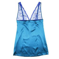 <strong>For/From Your Boyfriend</strong>: Mimi Holliday Azure Allure Chemise, $148