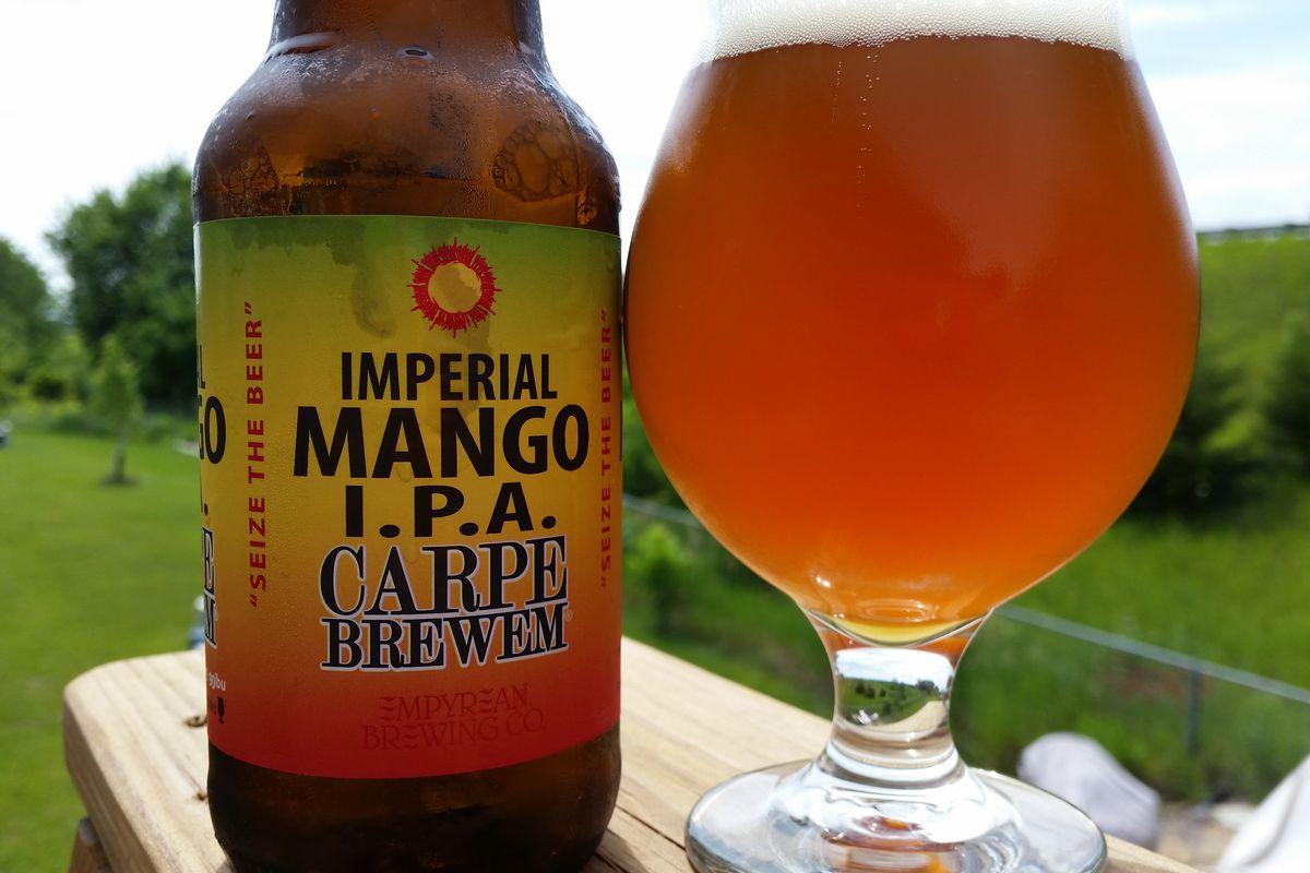 Imperial Mango IPA.  Fantastic summer brew!