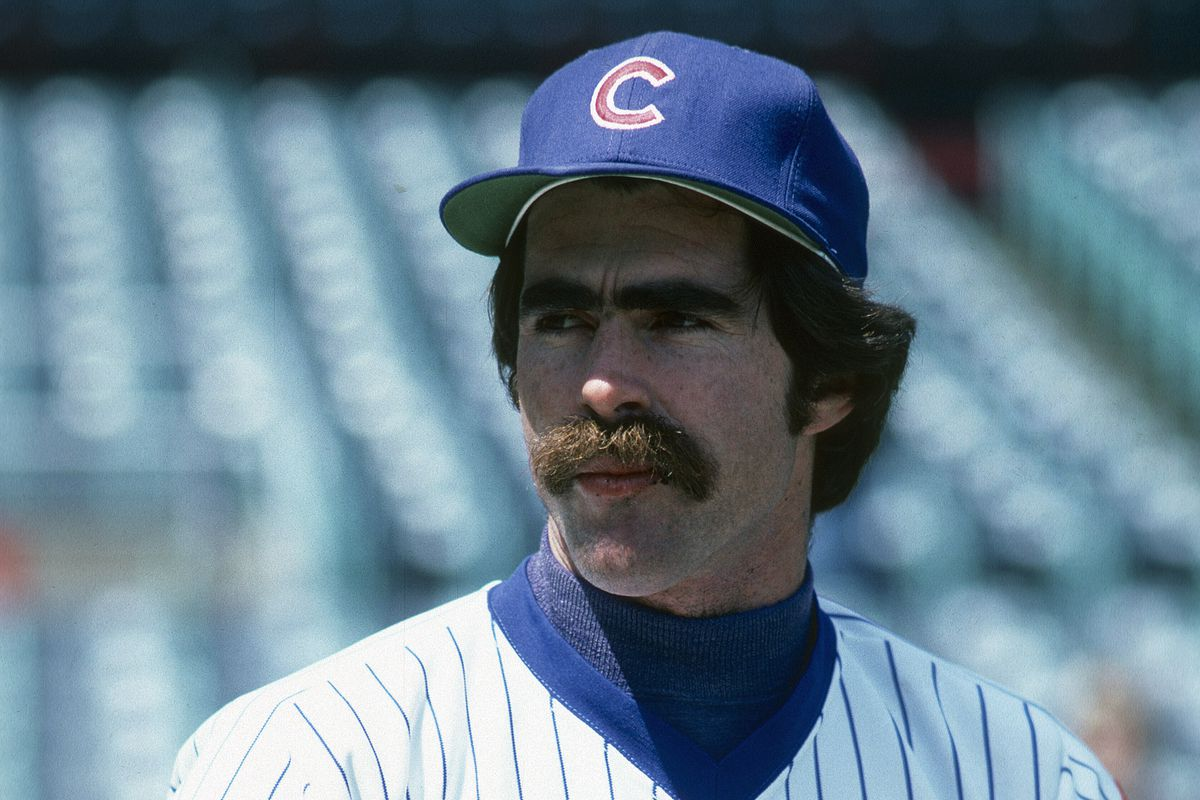 Bill Buckner's look says it all about the 1980 Cubs (as do the empty seats)