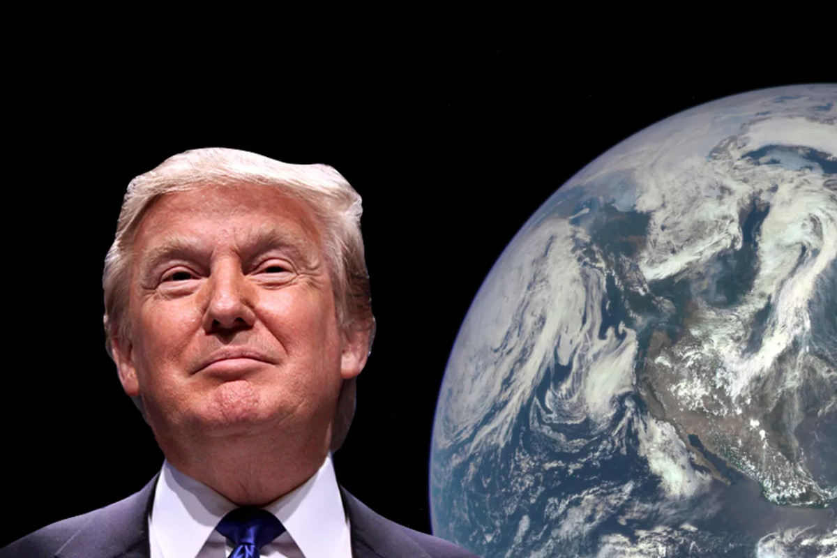 Image result for trump threat to planet earth