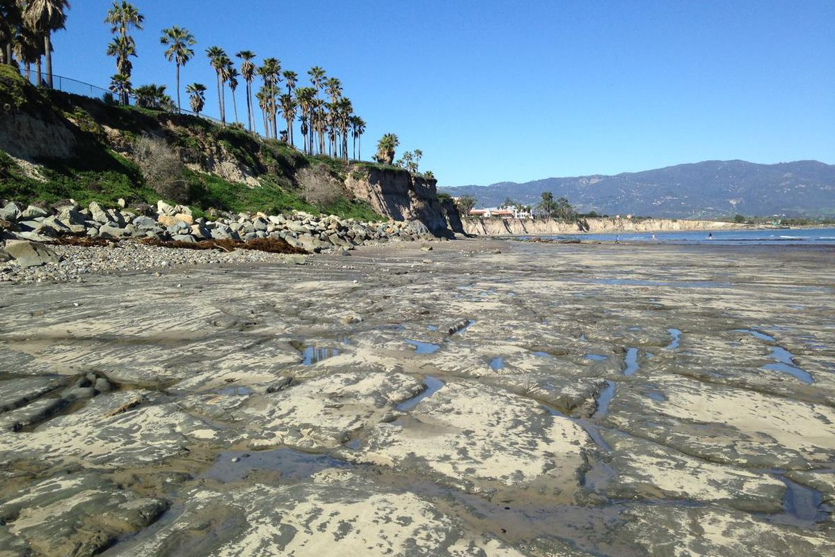 A Beach Near Uc Santa Barbara Daniel Hoover U S Geological Survey