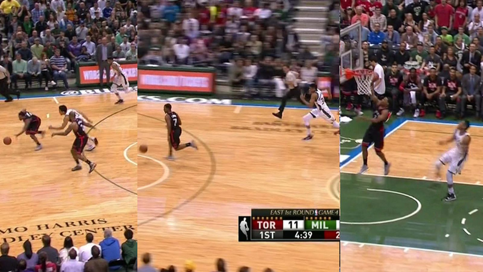 Giannis Antetokounmpo chased down Kyle Lowry for the greatest ...