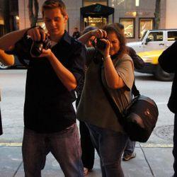Paparazzi on Oak Street