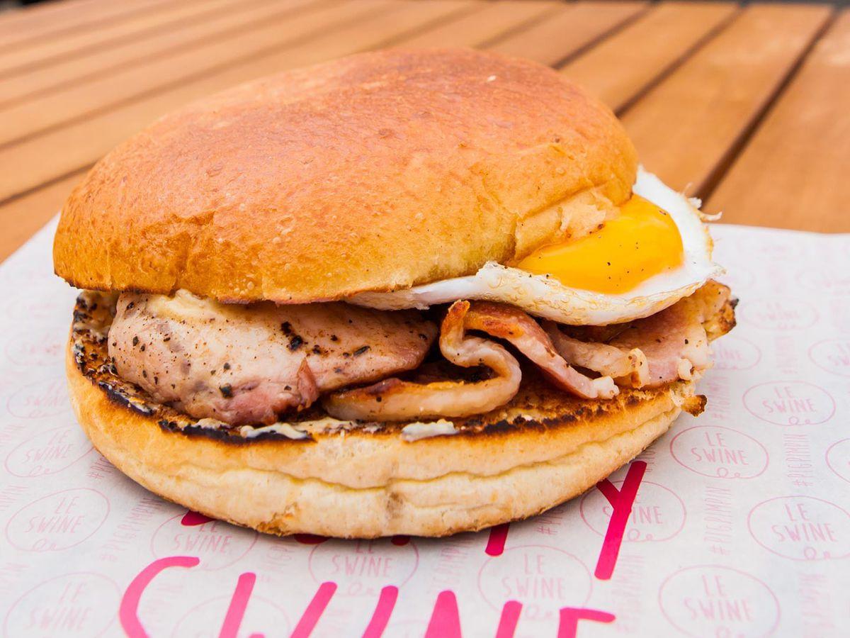 Best bacon sandwiches in London: Le Swine