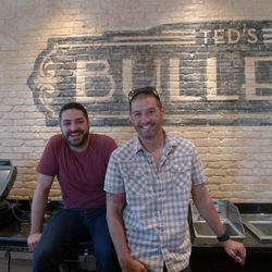 Matchbox Food Group's executive chef Jacob Hunter and founding partner Drew Kim.