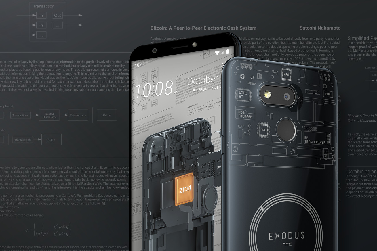 HTC's blockchain phone takes over a century to mine enough crypto to pay for itself
