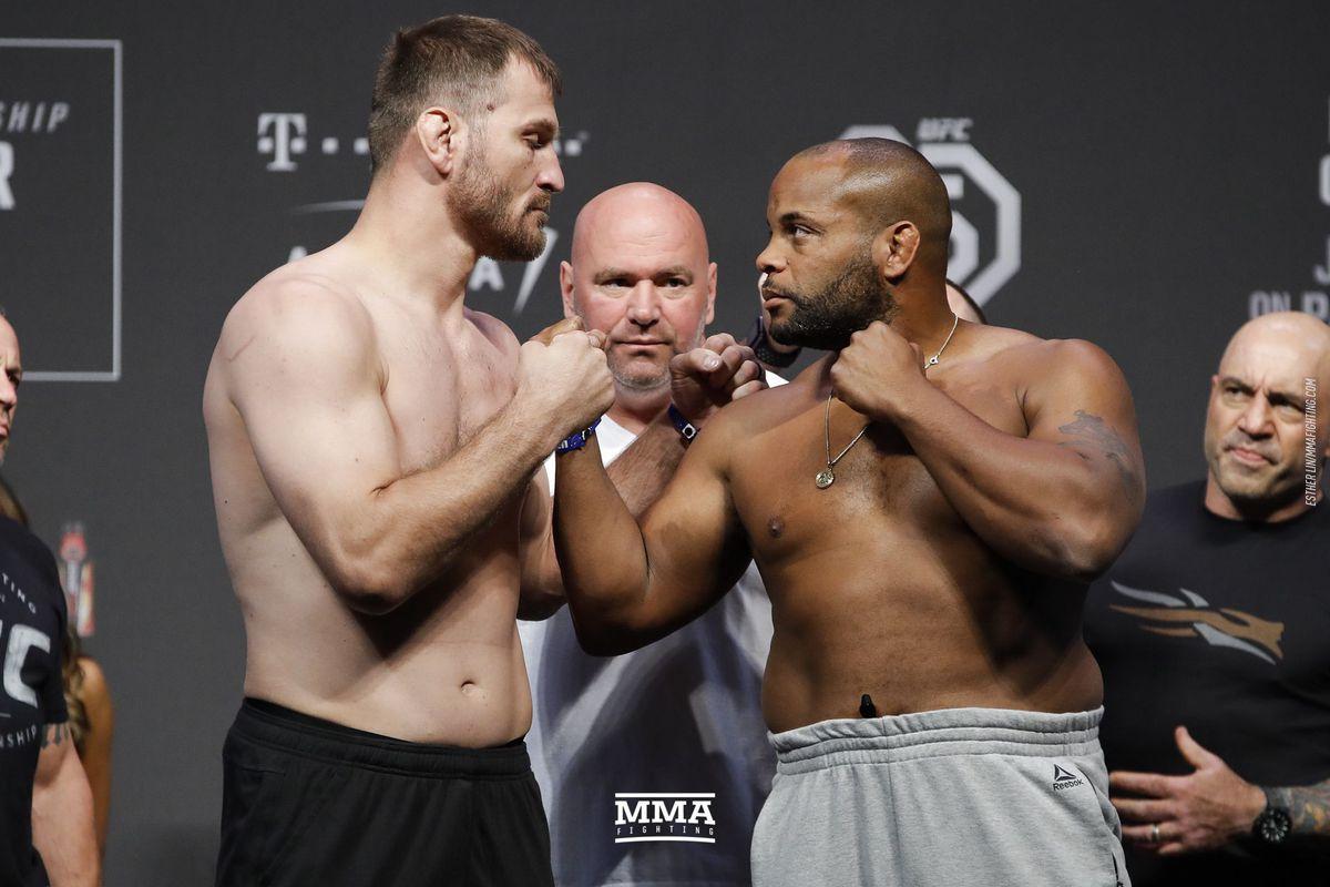Daniel Cormier vs. Stipe Miocic rematch is a pure battle of legacy