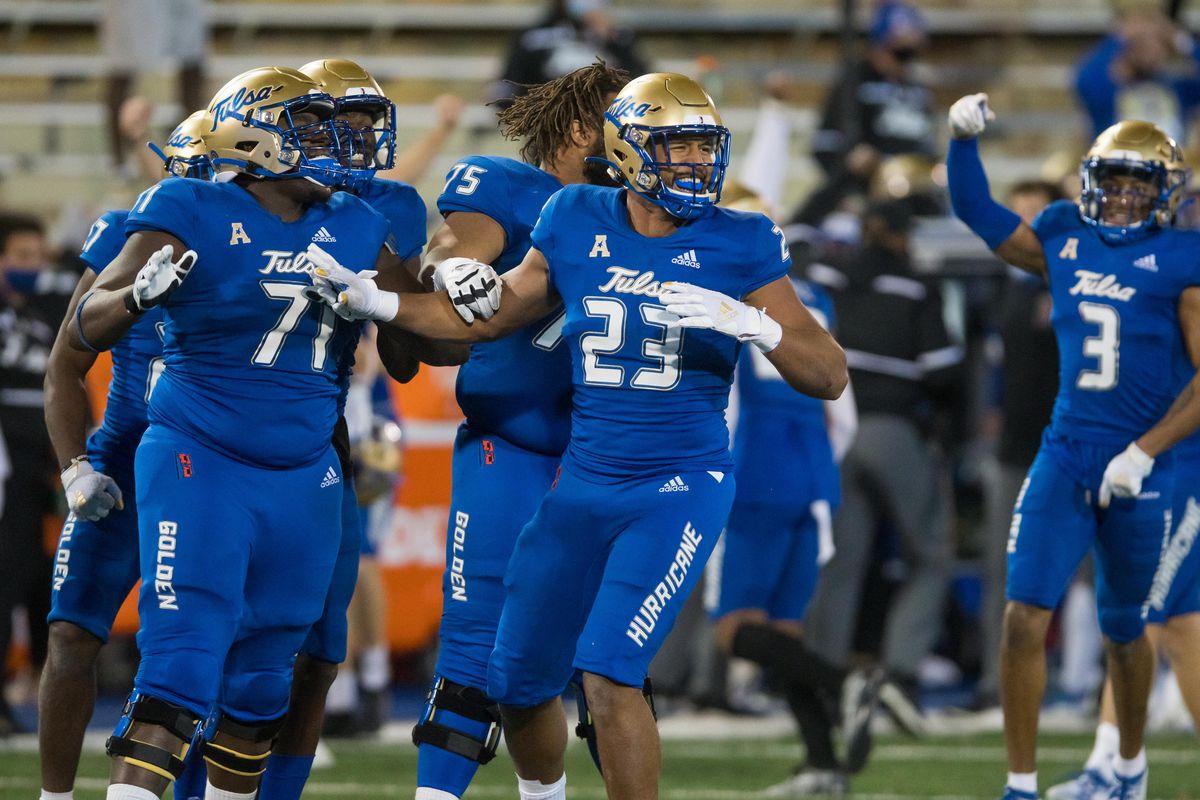 NCAA Football: Southern Methodist at Tulsa