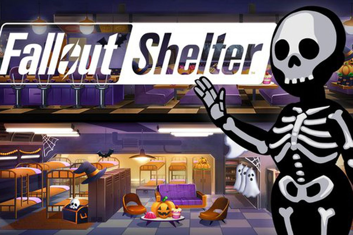 Fallout Shelter Halloween Update 2020 Fallout Shelter throws a spooky Halloween bash in new update   Polygon