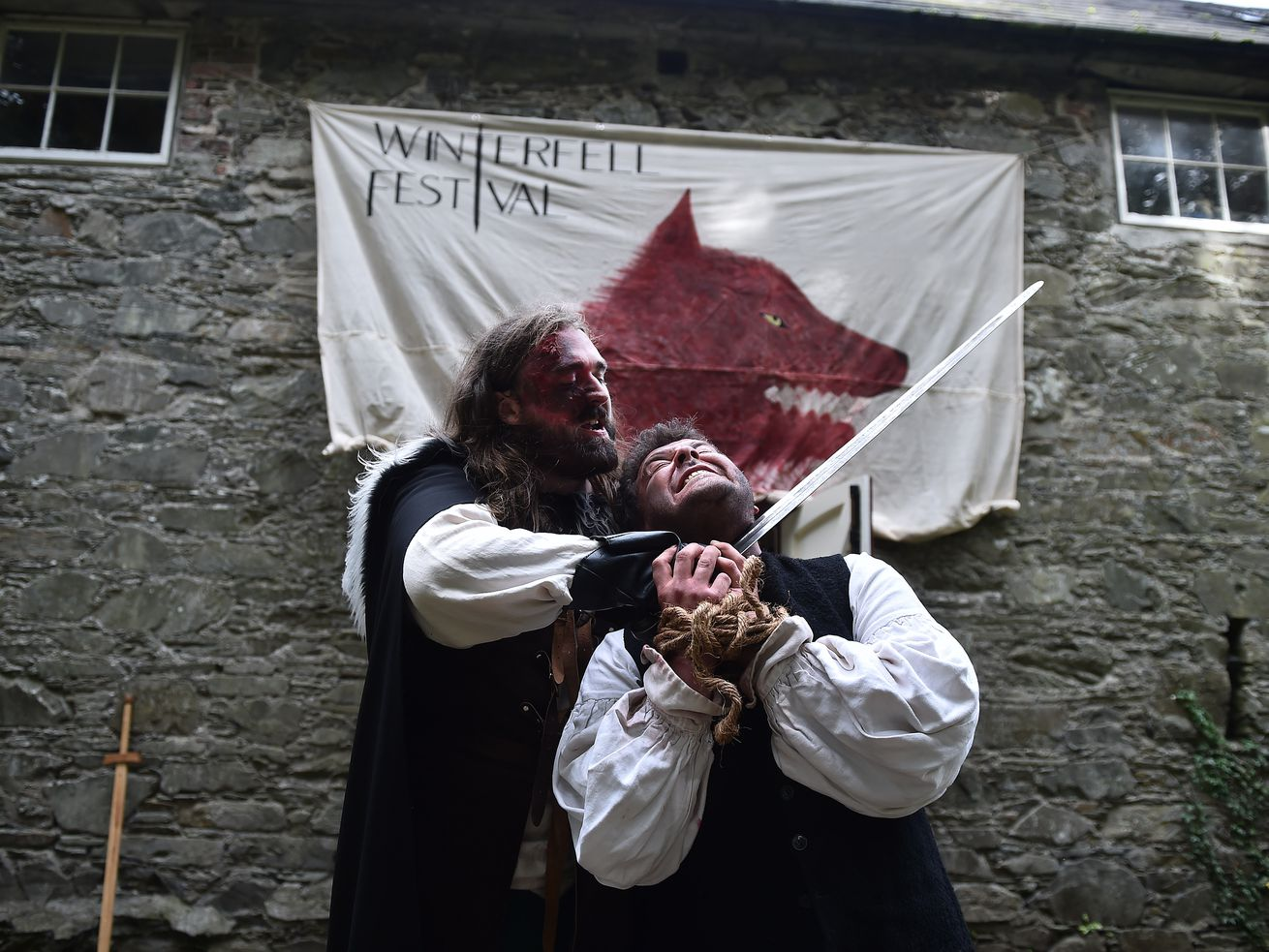 'Game of Thrones' Winterfell Festival 2018 Held In Northern Ireland