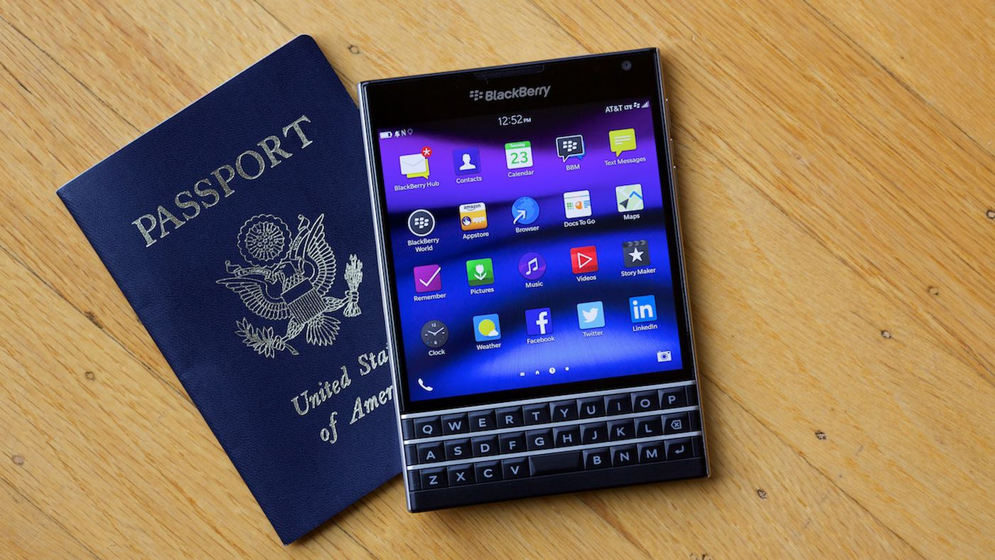A Phone Only a BlackBerry User Will Love - Vox