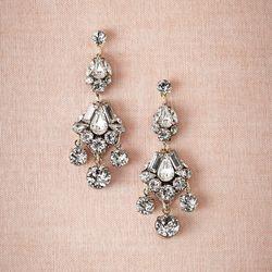 "<a href=""http://www.bhldn.com/shop-the-bride-bridal-jewelry/buchanan-chandeliers/productoptionids/a6b3b5d4-b30d-4f80-9a6a-f95eda786957"">Buchanan Chandeliers</a>, $157"