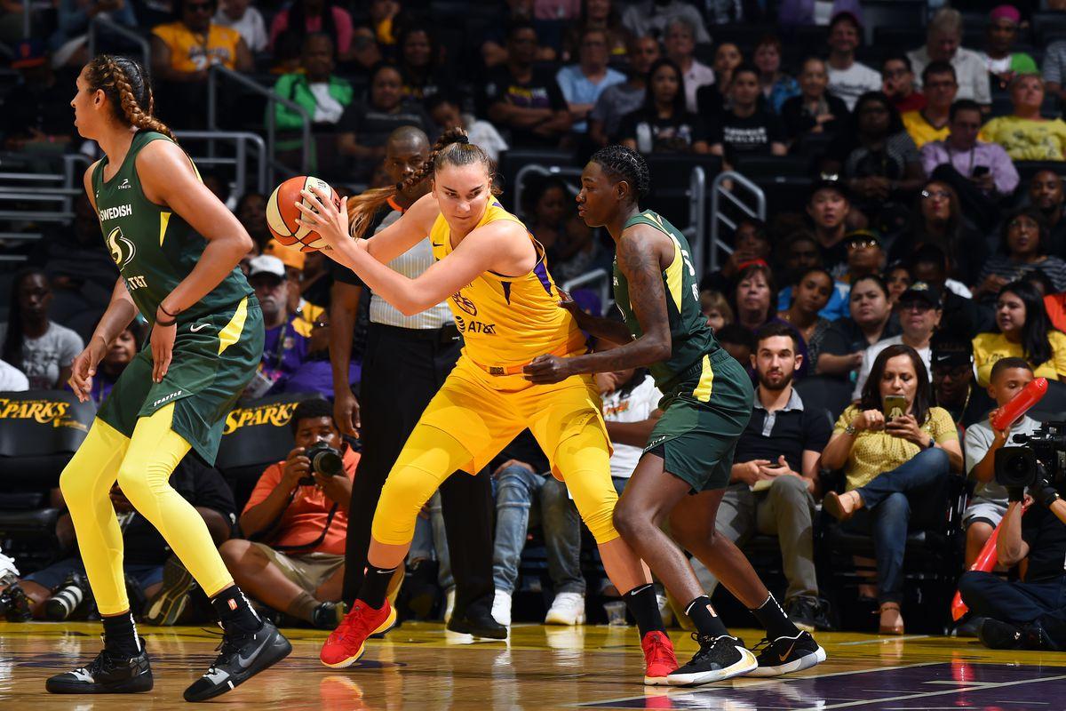 Seattle Storm v Los Angeles Sparks