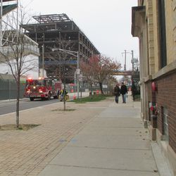 Engine 78 leaves on a call -