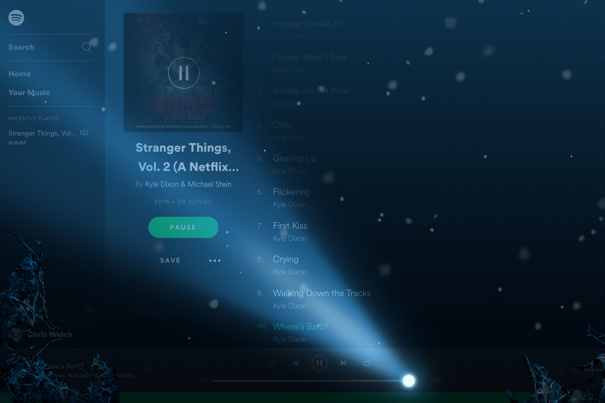 How To Trigger Spotify S Creepy Stranger Things Easter Egg