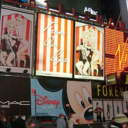 """March: A compendium of billboards <a href=""""http://ny.racked.com/archives/2010/03/15/times_square_belongs_to_lady_gaga_and_cyndi_lauper.php"""" rel=""""nofollow"""">announces</a> some major Times Square changes."""
