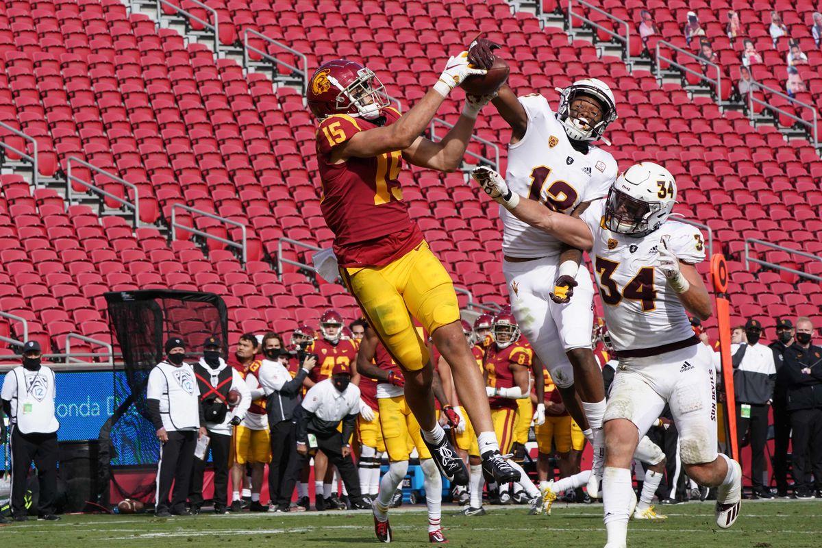 NCAA Football: Arizona State at Southern California