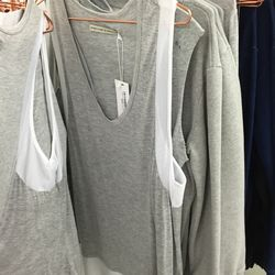 Shades of Grey by Micah Cohen racerback tank, $45 (was $60)