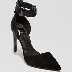 """<a href=""""http://www1.bloomingdales.com/shop/product/dolce-vita-pointed-toe-pumps-kana-ankle-strap-high-heel""""> $88.20 (were $159)"""