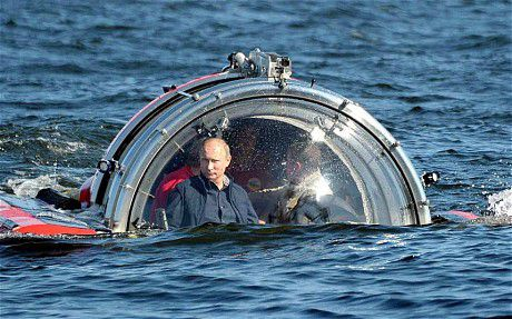 Don't Overthink It: Some Photoshops Of Vladimir Putin In His Magical
