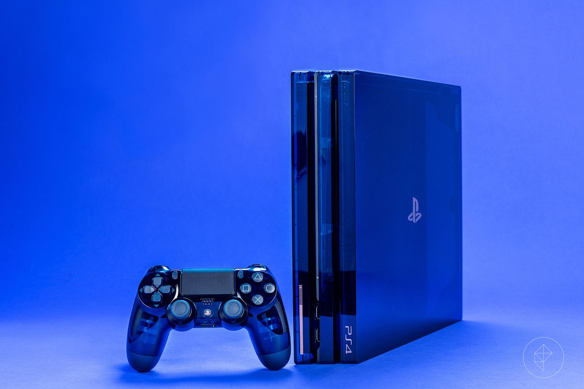 500 Million Limited Edition PS4 Pro detailed in close-up