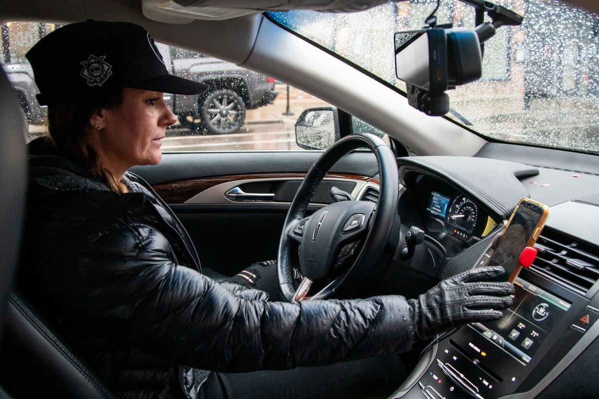 Marion Dollar of Pilsen is usually driving for Uber and Lyft but has decided to forgo income for at least two weeks to do her part in social distancing amid the coronavirus pandemic.