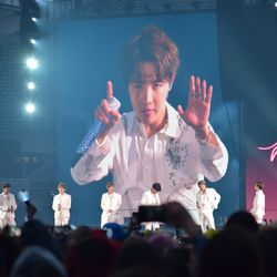 BTS at Soldier Field on May 11, 2019. | Mark Brayboy/For the Sun-Times