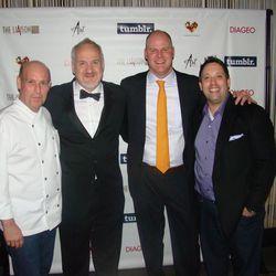 Todd Gray, Art Smith, Scott Drewno and Mike Isabella.
