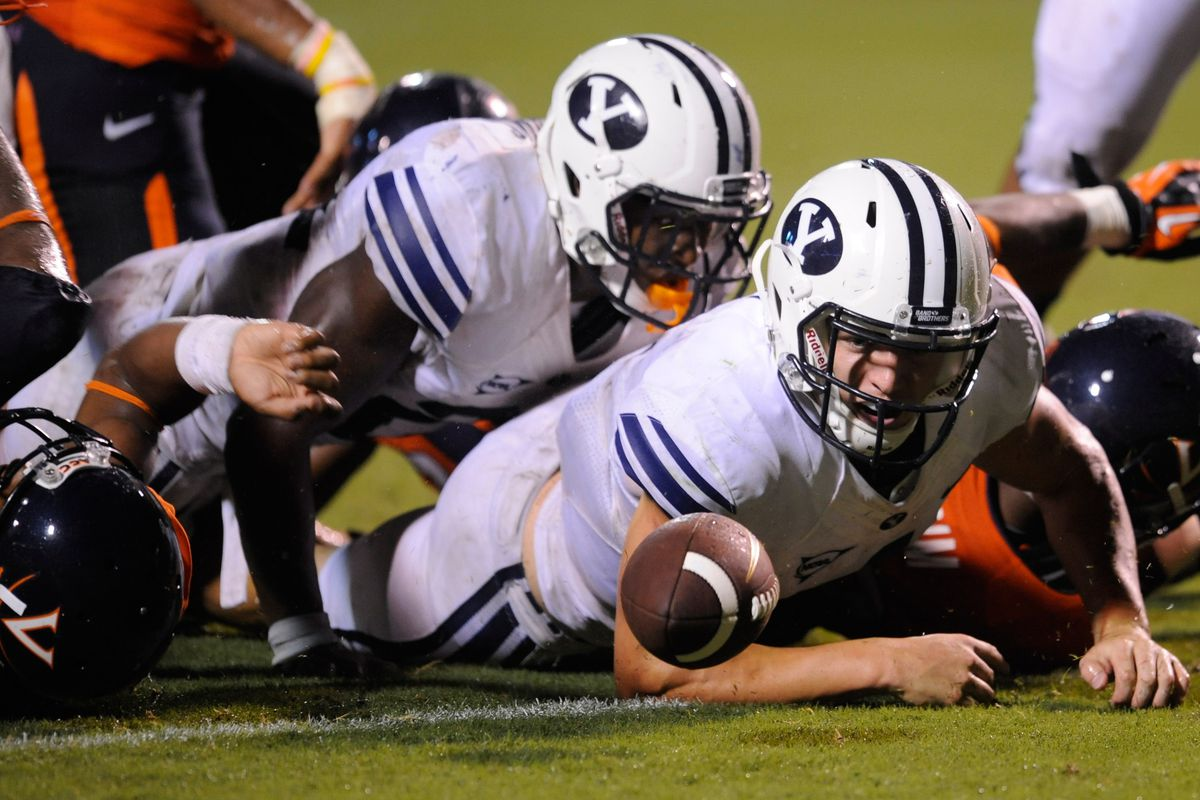 Quarterback Taysom Hill and BYU had one of those afternoons at Virginia.