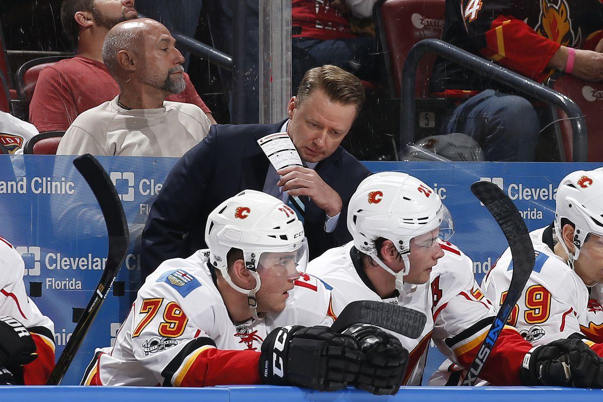 Calgary Flames v Florida Panthers