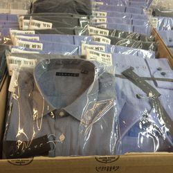 Men's dress shirts, $59