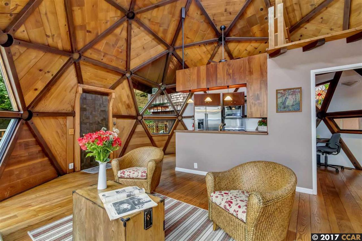 Geodesic Dome Home In Lafayette Asks 889k Curbed Sf