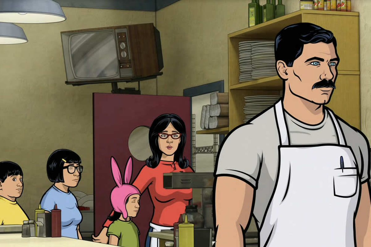the bob s burgers and archer crossover isn t dead yet polygon