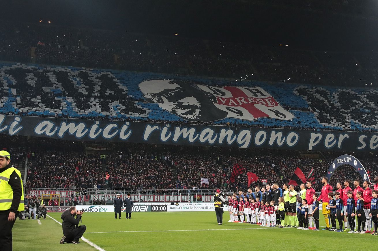 Inter Milan given suspended sentence for racial chants