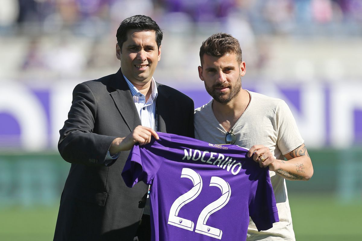 Antonio Nocerino is set to grace the Citrus Bowl's surface on Friday
