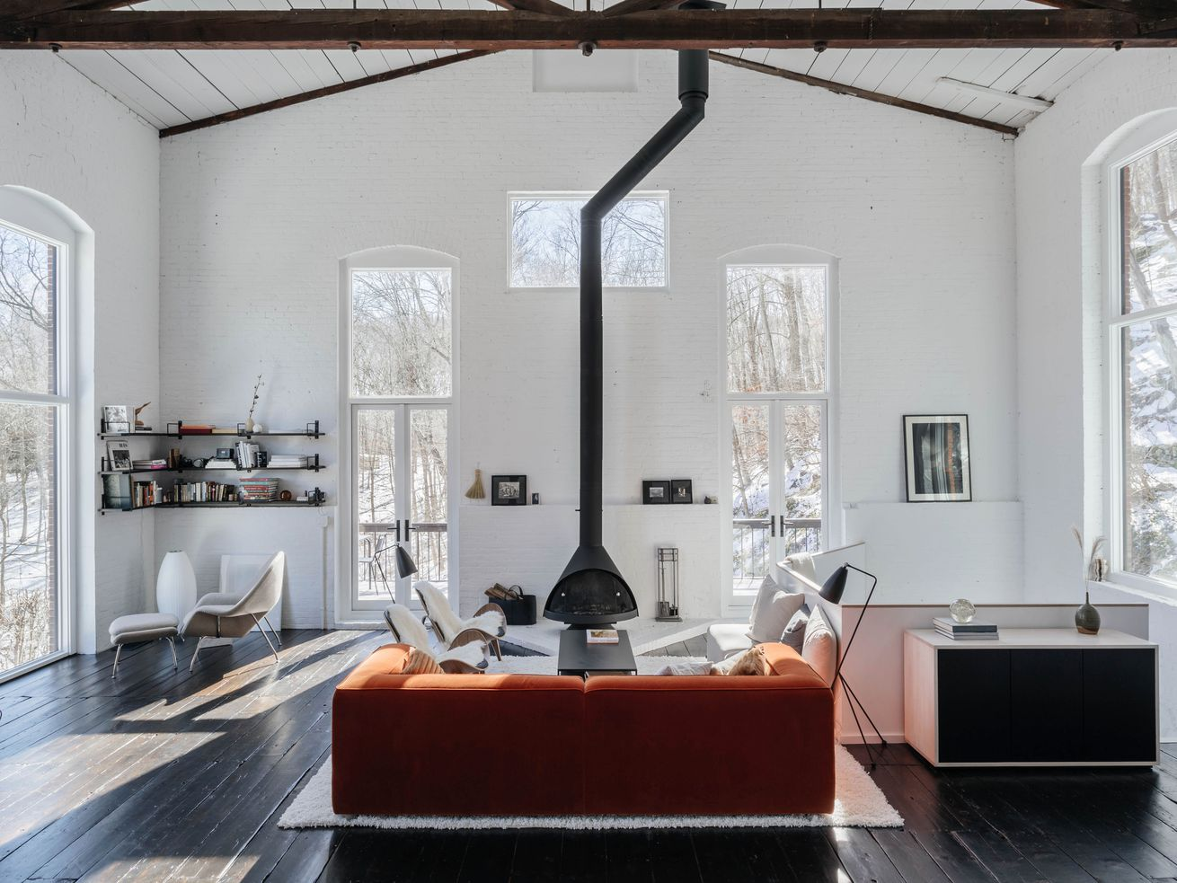 Former ore foundry renovated into stunning weekend home