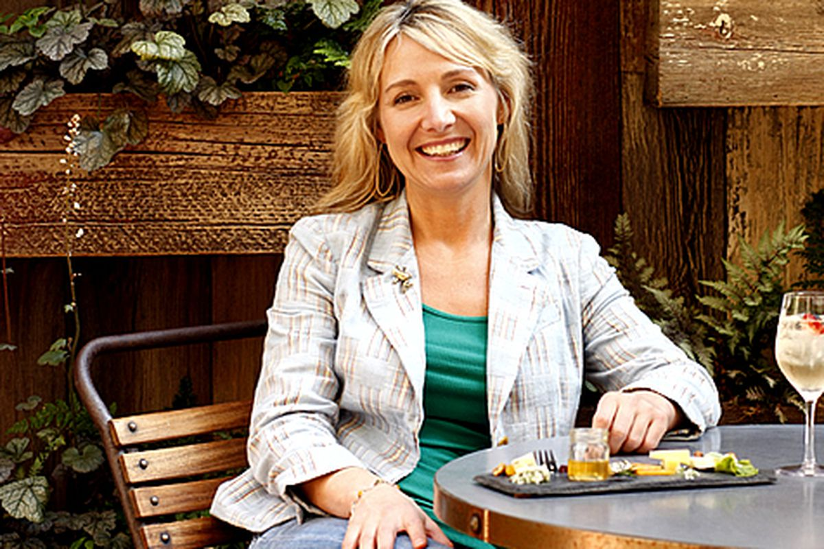 Aimee Olexy, co-owner of Talula's Garden