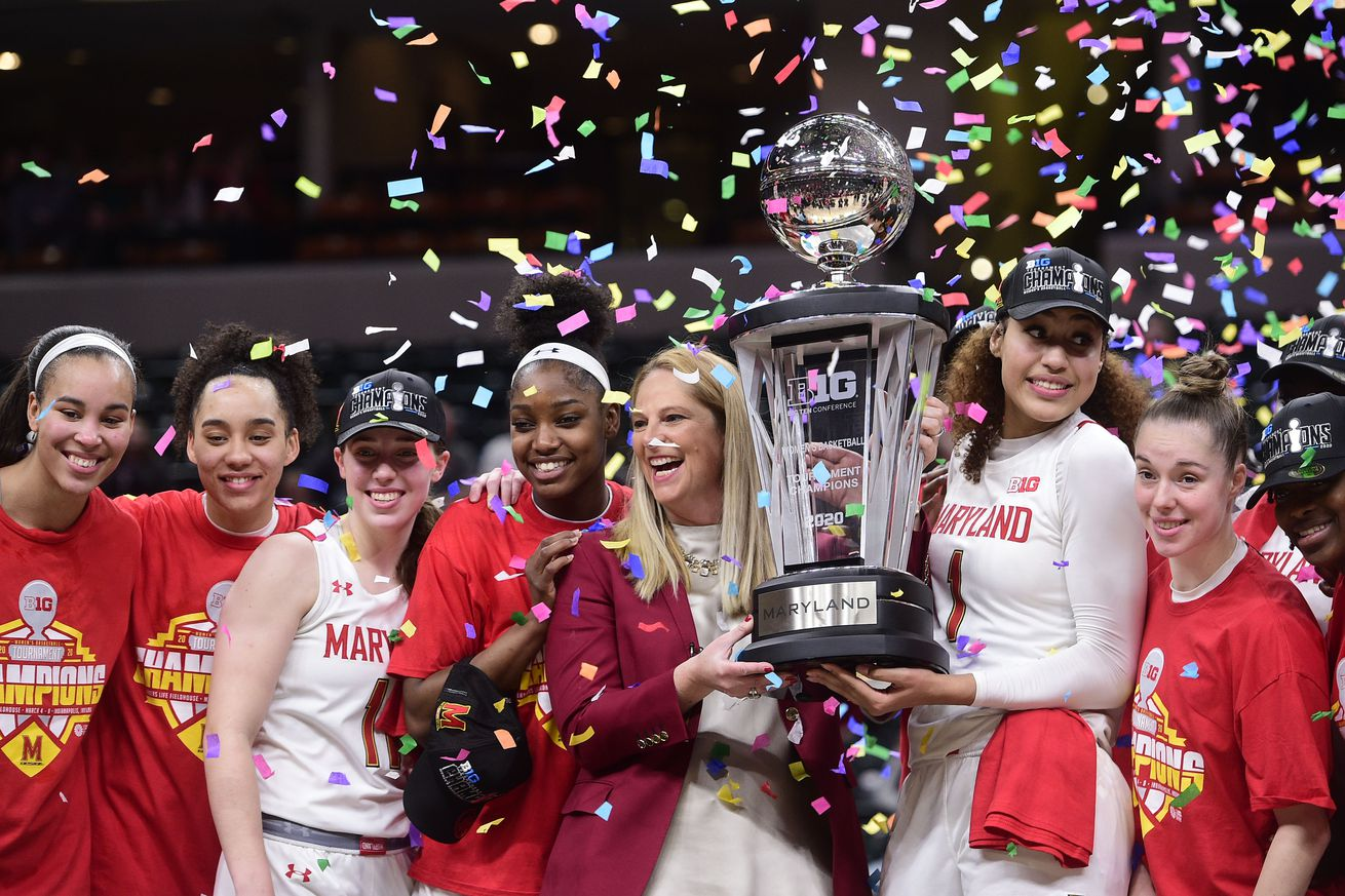 NCAA Womens Basketball: Big Ten Conference Tournament: Maryland vs Ohio State