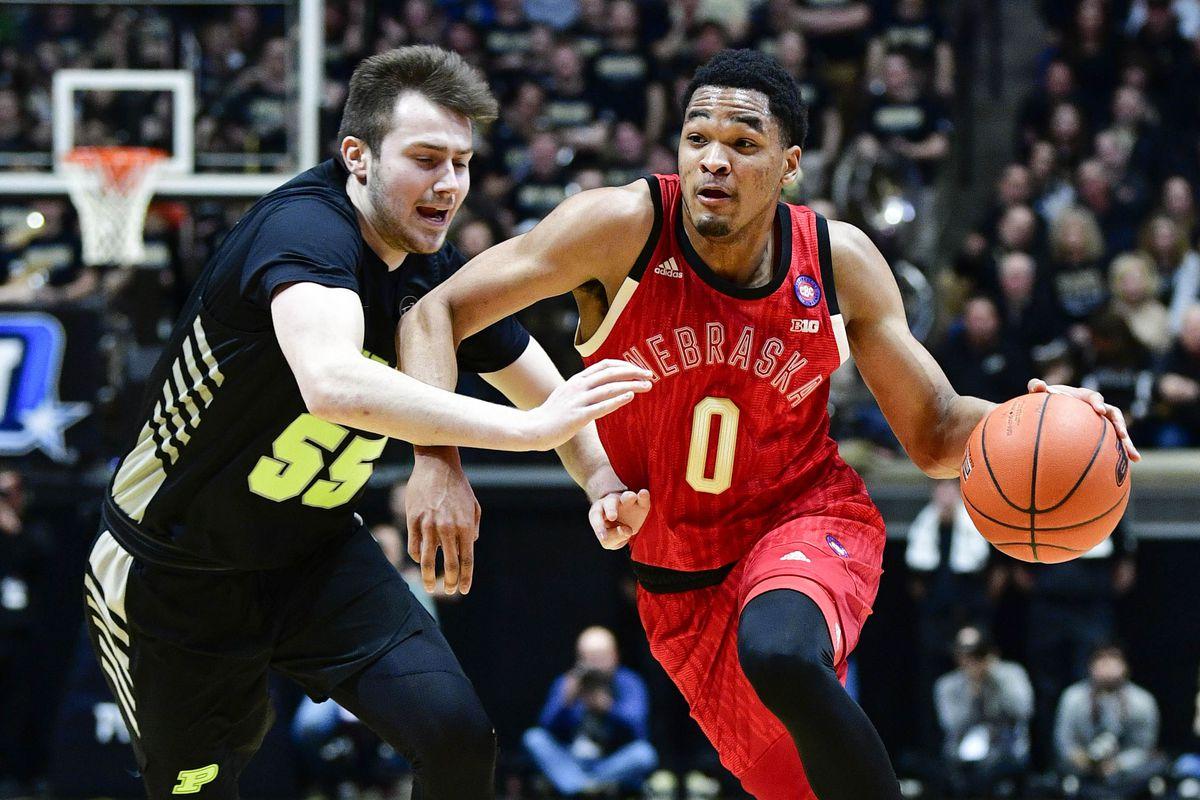 NCAA Basketball: Nebraska at Purdue