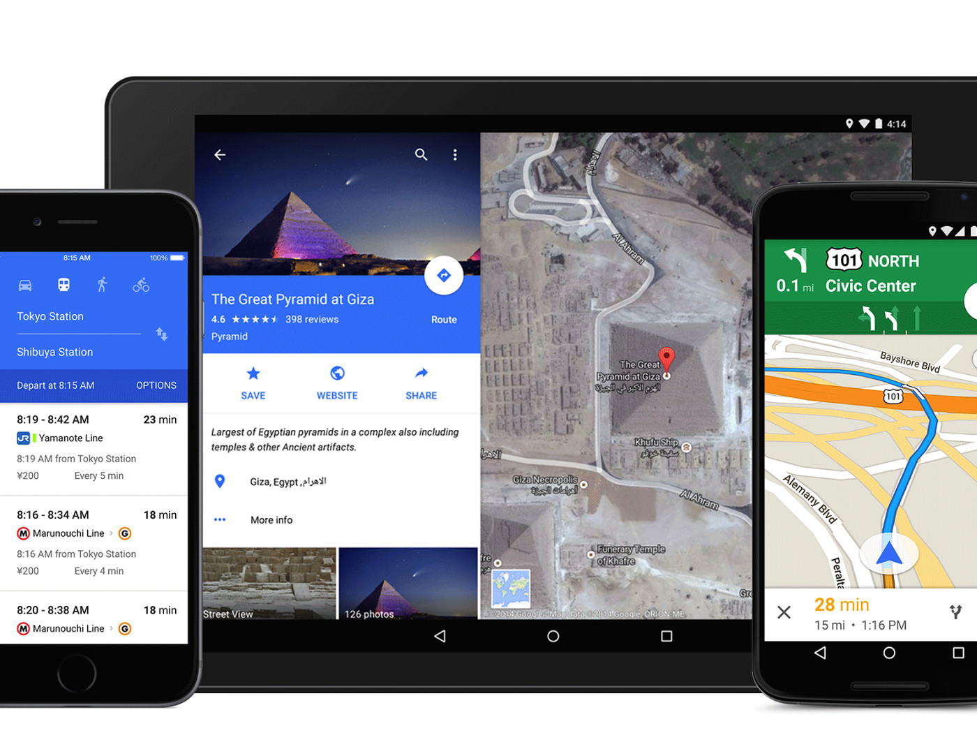 Google Maps is getting a colorful redesign for iOS and ... on google map pin, google earth map boston, google bike maps seattle,