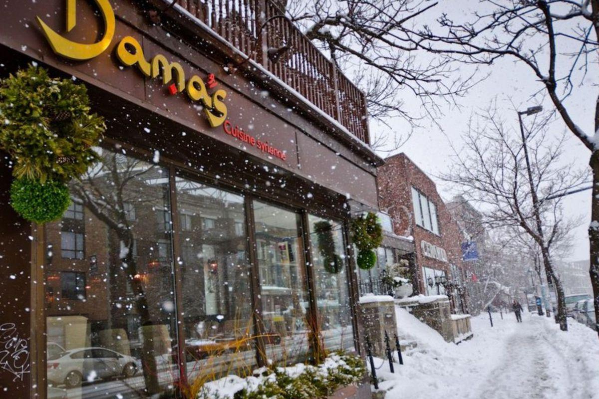 Damas gets a fresh start after the snow melts