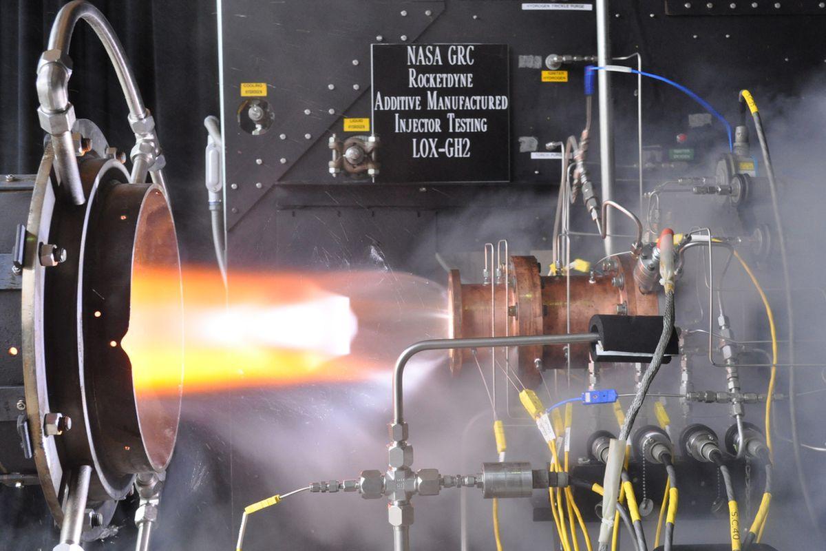 NASA 3D Printed Rocket Injector
