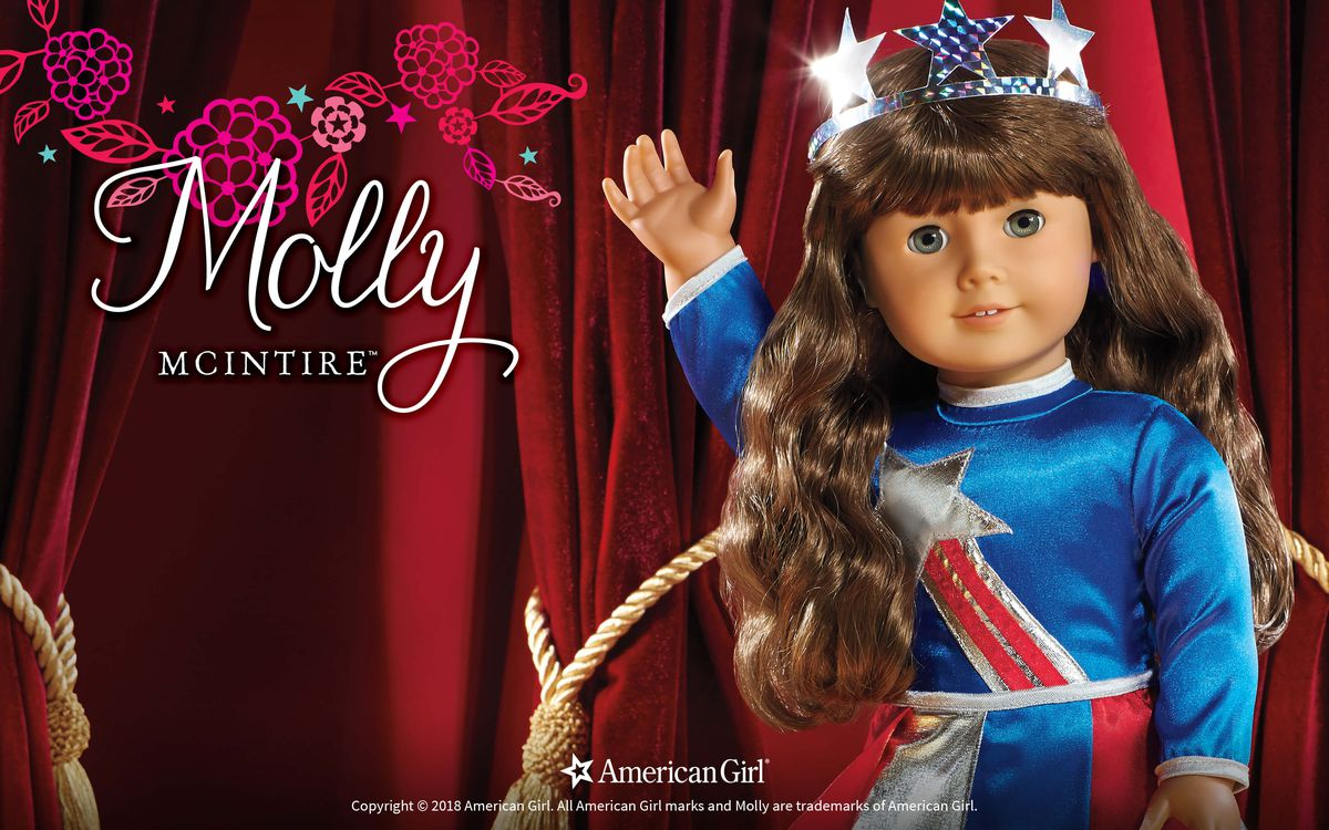 molly in a miss america costume
