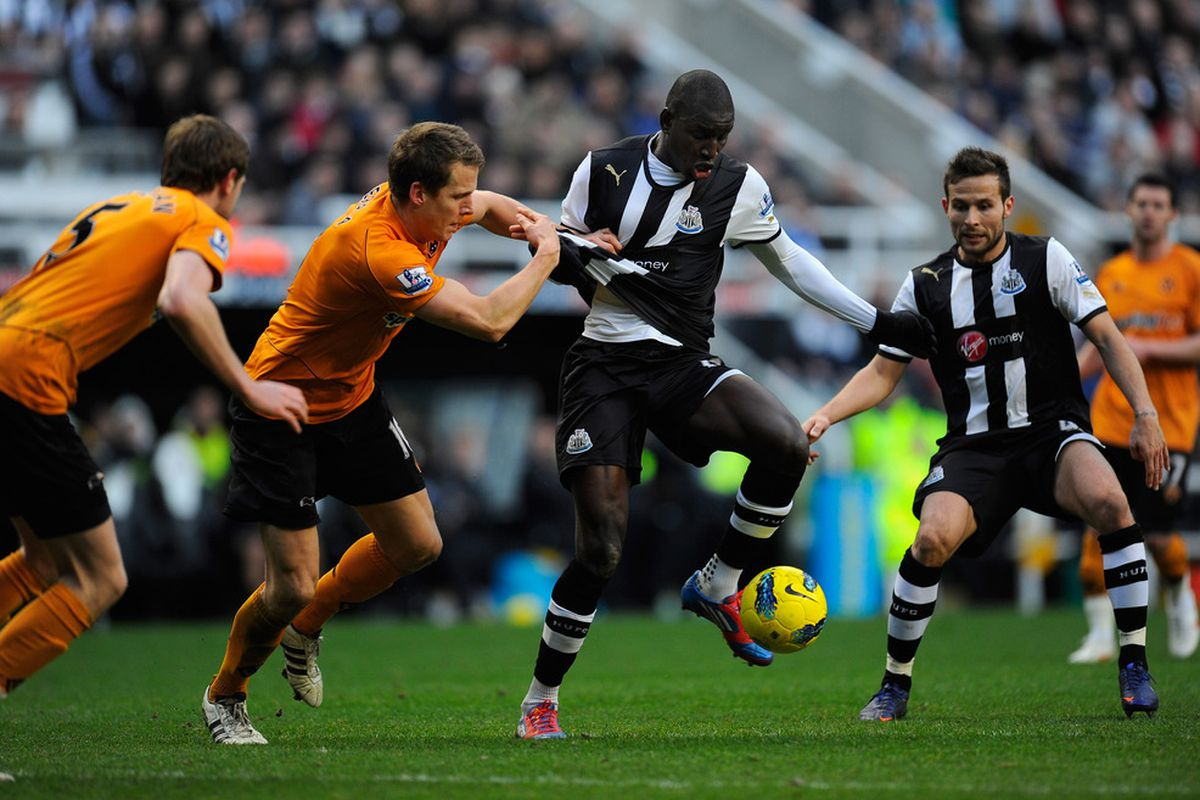 Yeah... it was a lot like that for Demba on Saturday.