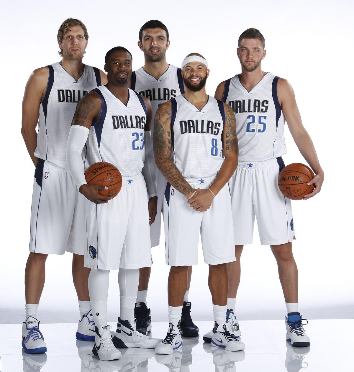 Dallas Mavericks Media Day 2015