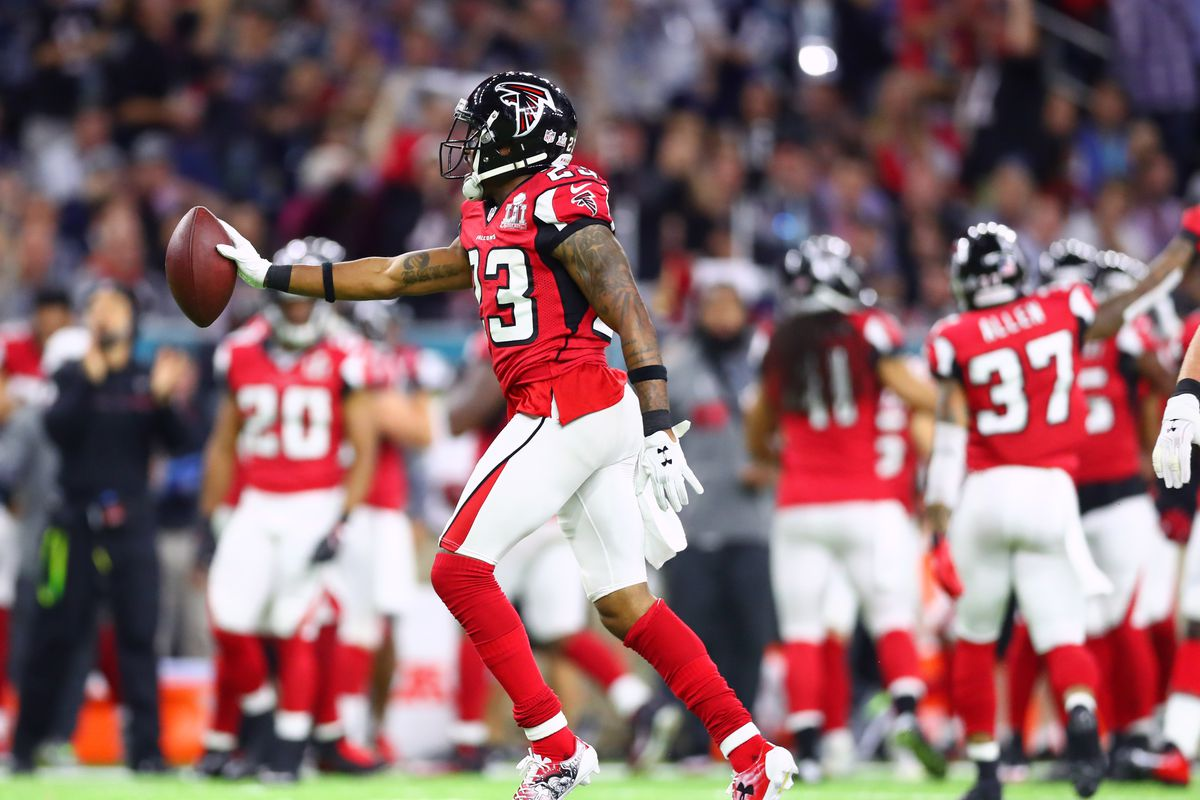 Robert Alford Atlanta Falcons are the fastest team in the NFL